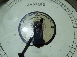 1963 CANADIAN WESTINGHOUSE Amperes LARGE hydro FRANKENSTEIN IT Cambridge Kitchener Area image 2