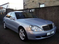03 53 MERCEDES S320 CDI V6 3.2 DIESEL AUTO 1 OWNER SATNAV HEATED LEATHER ALLOYS
