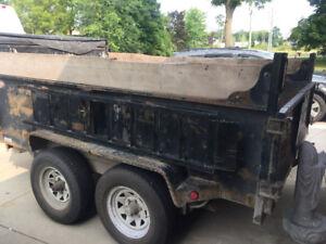2010 dual piston Hydraulic dump trailer / SOLD !!!!!!