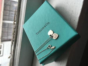 Tiffany Mini Double heart Necklace