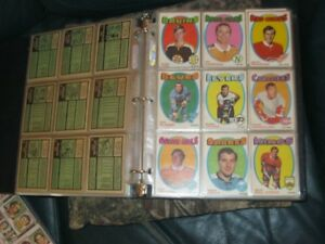 RARE! ORIG. 1971-72 O-PEE-CHEE COMPLETE SET OF 264 HOCKEY CARDS!