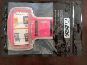 APPLE IPHONE ARMBAND - PINK - NEW - MAKE IS GEAR BEAST