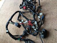 YAMAHA YZF R125 2014 PARTS WIRING LOOM, ECU, COMPLETE ABS BRAKING SYSTEM, RADIATOR, & MORE PARTS