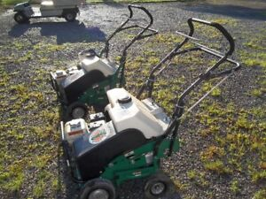 BILLY GOAT LAWN AERATOR MAKE GREAT CASH READY TO WORK