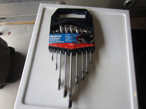 Mastercraft Combination Wrench Set (SAE)