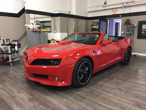 2011 Pontiac Firebird Trans Am Conversion on Chevrolet Camaro SS