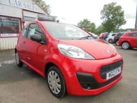 PEUGEOT 107 1.0 12v ACCESS Red Manual Petrol, 2012