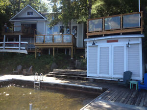 Upper Stoney Lake 6 Bedroom 4 Season Vacation Cottage for Rent