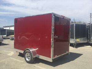 6' x 10' V-Nose Cargo Trailers •3 Year Warranty • Made in Canada London Ontario image 4
