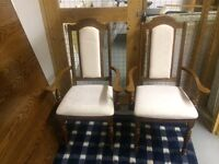 Dining chairs for sale.