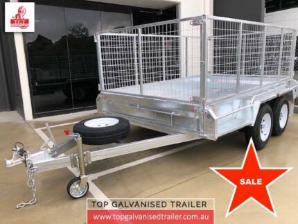 10X5 TANDEM BOX TRAILER GALVANISED HEAVY DUTY 2000KG ATM Geelong Geelong City Preview