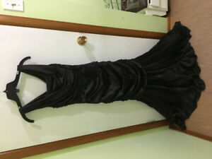 Beautiful black gown for sale