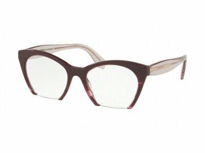 Miu Miu MU03QV Q041O1 49 Violet /Transparent Eyeglasses Optical Frame (Miu Miu Optical Frames)