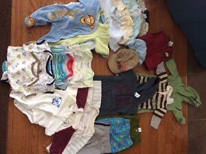 Group of Baby Clothes