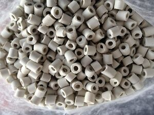 5 L Ceramic Raschig Rings Reflux Column Packing Moonshine