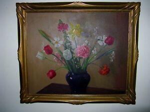 Large Still Life Listed Canadian Artist REDUCED $500