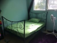 Double bed w/ mattress