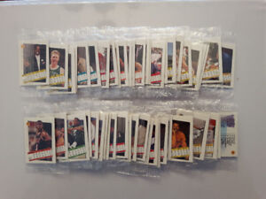 Basketball cards 1991-92 Skybox Minis Mint