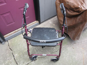 BIOS Diagnostics Rollator Walker BD-743 - $100 O.B.O.