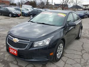 2014 Chevrolet Cruze 1LT Sedan, Bluetooth, Backup Camrea