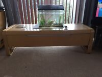 Tv console stand