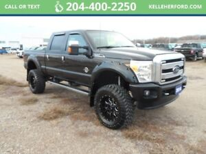 2014 Ford Super Duty F-350 SRW PlatinumCrew Cab