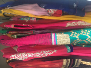 Eleven Indian Outfits for sale! $40 each!