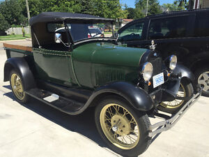 1929 Ford Model A Pickup - Newly Repaired but All Original London Ontario image 4