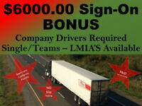 LCV Drivers $ 28.05/Hr - USA Drivers $0.50/mile-LMIA's Available