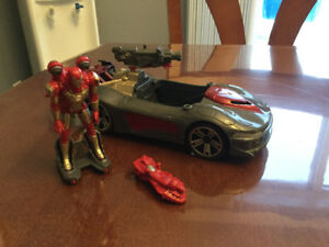 Voiture Iron man