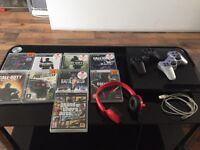 PS3 console big complete bundle! NOT PS4