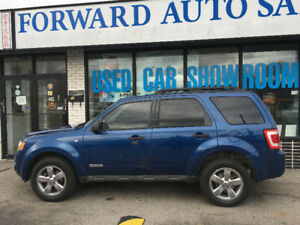 2008 Ford Escape XLT SUV, Crossover, Safety and Warantee