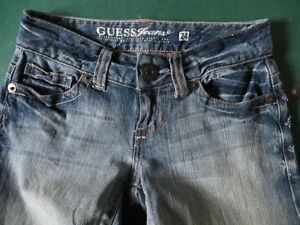 GUESS Daredevil boot cut jeans - NEW - size 24 Kitchener / Waterloo Kitchener Area image 2