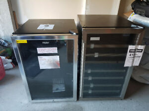 DANBY WINE FRIDGE AND HAIER CAN/BEER FRIDGE