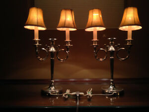 Silver Plated Candelabras