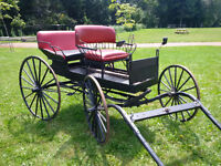 Antique 4 passenger carriage. $1200 or best offer
