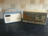 Retro, vintage DAB Quest radio
