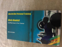 CERTIFIED LEVEL 3 PERSONAL TRAINER FOR HIRE.