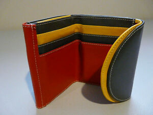 "Ladies Leather Wallet by ""Expressions"""