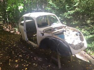 1973 Super Beetle SHELL ONLY