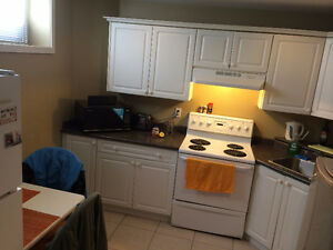 Full-furnished suite decent house basement rent