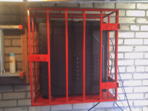 """PC Security Cage (steel) - Wall Mounted 28""""x 26""""x 14"""""""