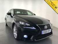 2015 LEXUS IS 300H EXECUTIVE EDITION AUTOMATIC HYBRID 1 OWNER SERVICE HISTORY