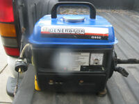 2 CYCLE GENERATOR AS NEW