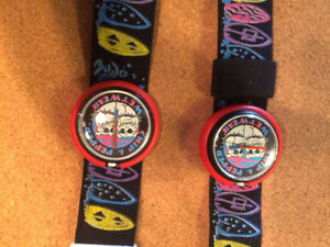 2 Kids Chip N Pepper waterproof watches 20$