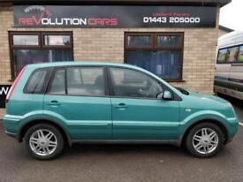 2007 FORD FUSION ZETEC CLIMATE HATCHBACK PETROL