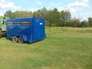 1998 Trail Rite Cattle Trailer