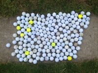 190 mixed golf balls for sale £50