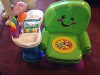 Fisher price toy musical chair