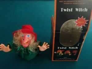Twist Witch-Vintage Halloween Toy